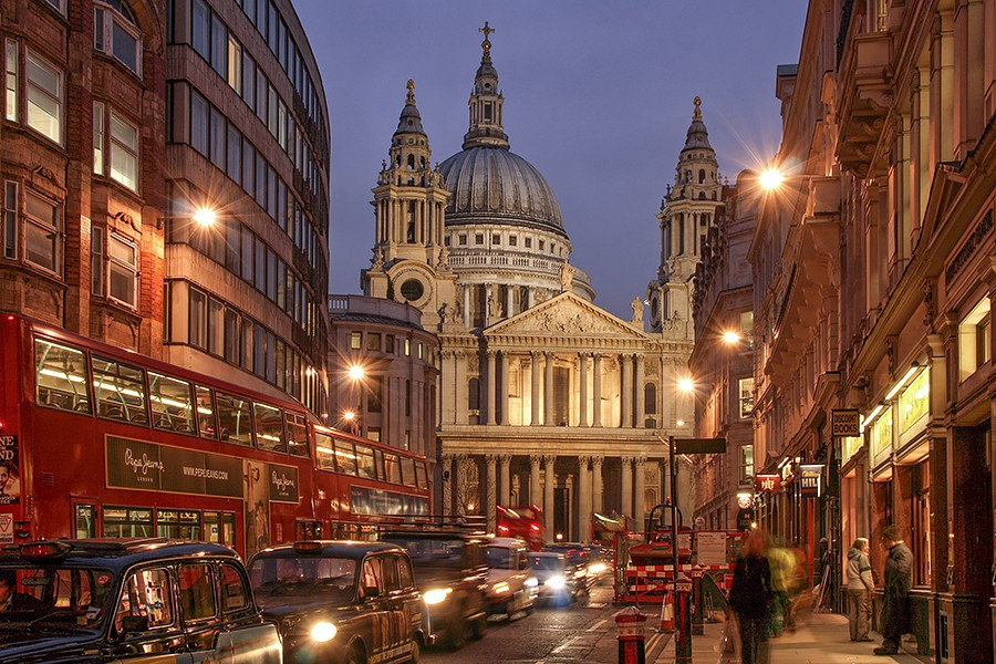 St. Paul's Cathedral London.