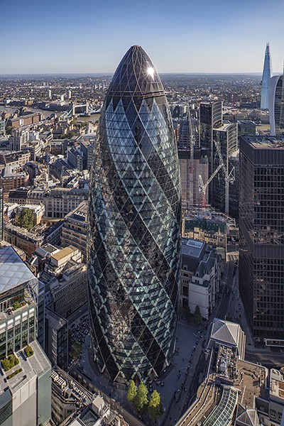 30 St. Mary Axe (Foster + Partners)